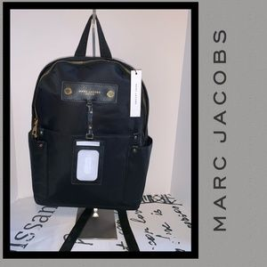 MARC JACOBS NWT Nylon Backpack Gold-toned Hardware